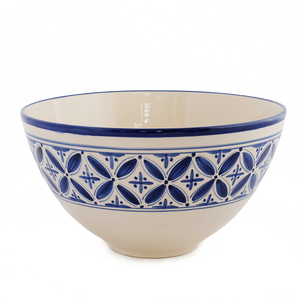 Large Deep Blue Fez Salad Bowl