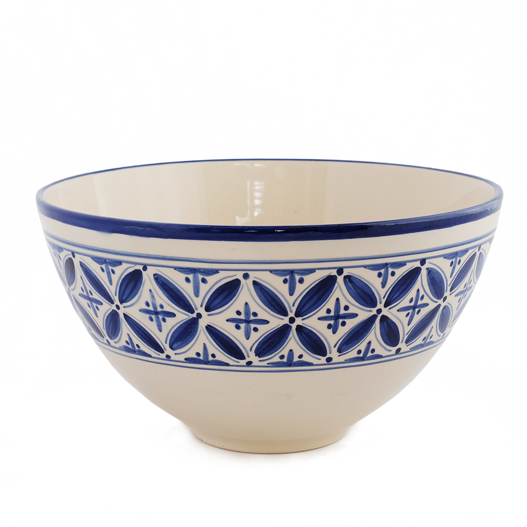 "New blue Fez 12"" deep salad bowl"