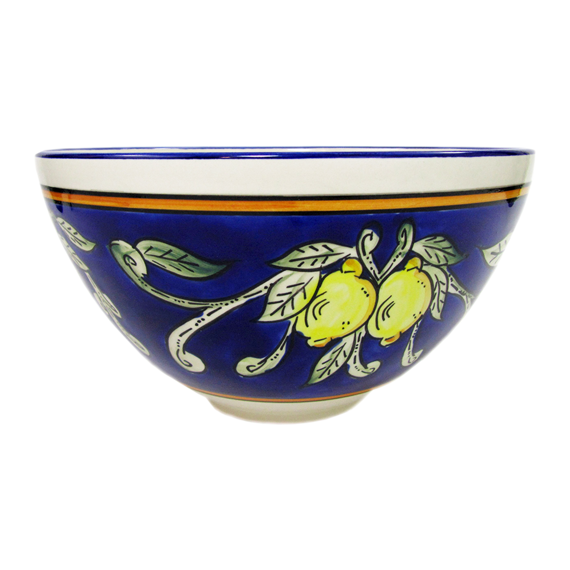 Large Deep Citronique Salad Bowl