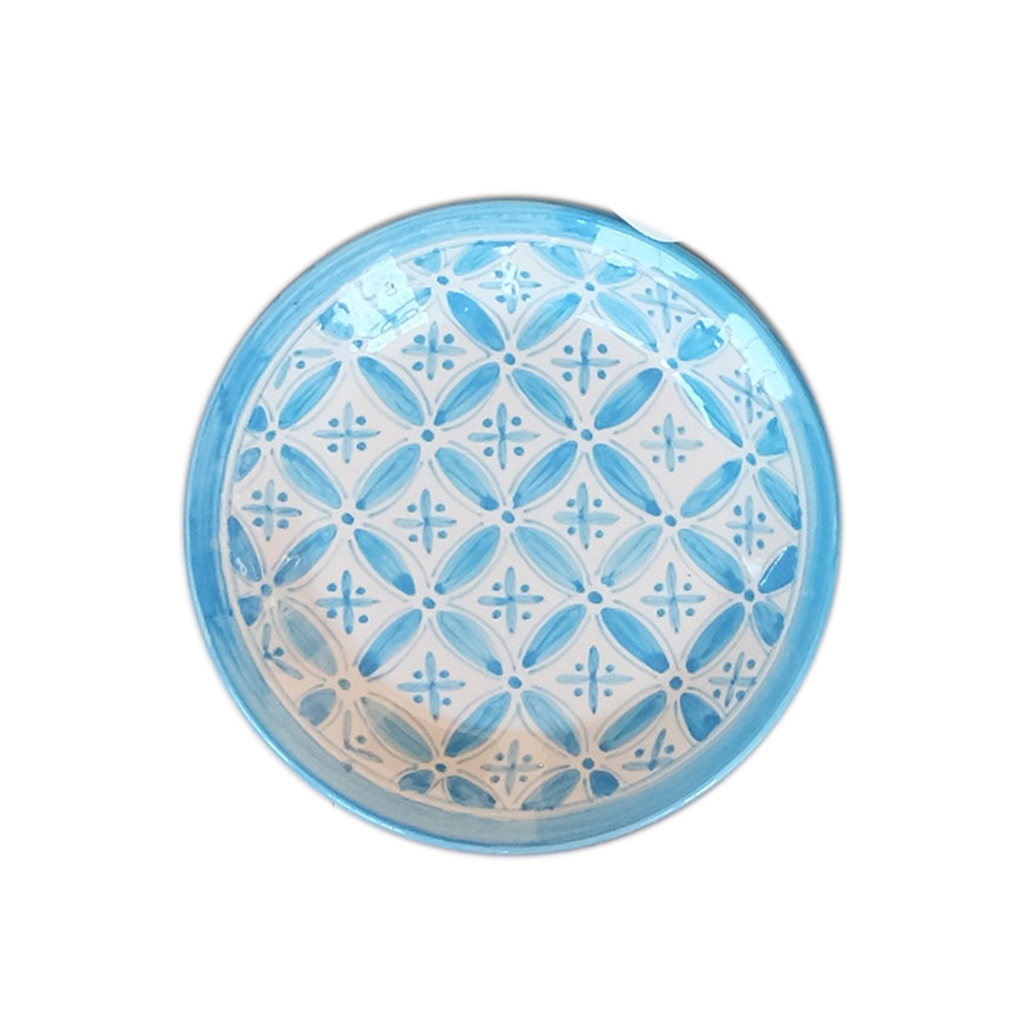 Turquoise Fez Side Plate