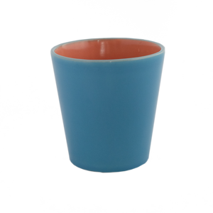 Medium Turquoise Ceramic Pot