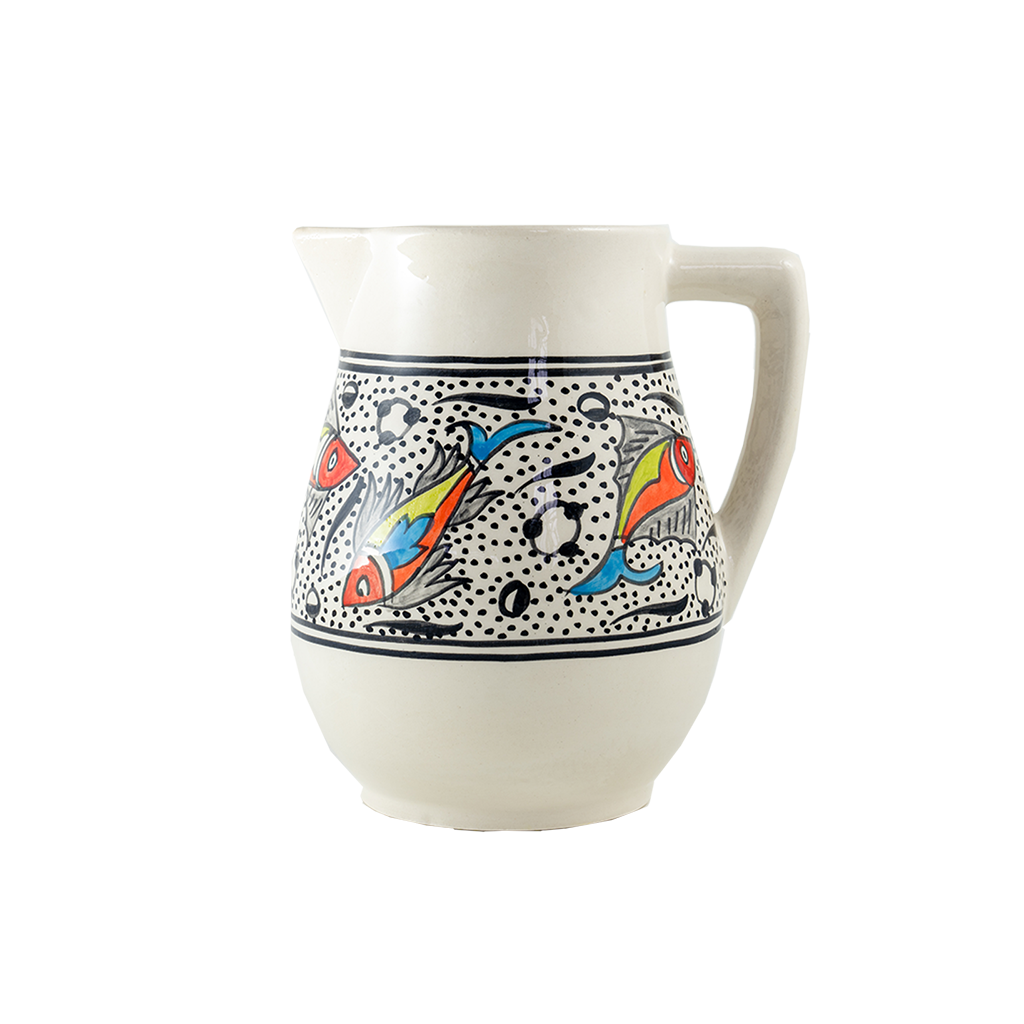 Rainbow Fish Pitcher