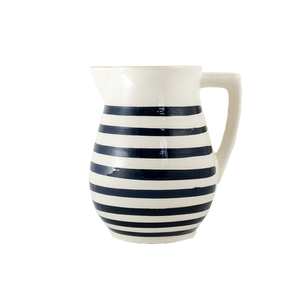 Black Stripe Pitcher
