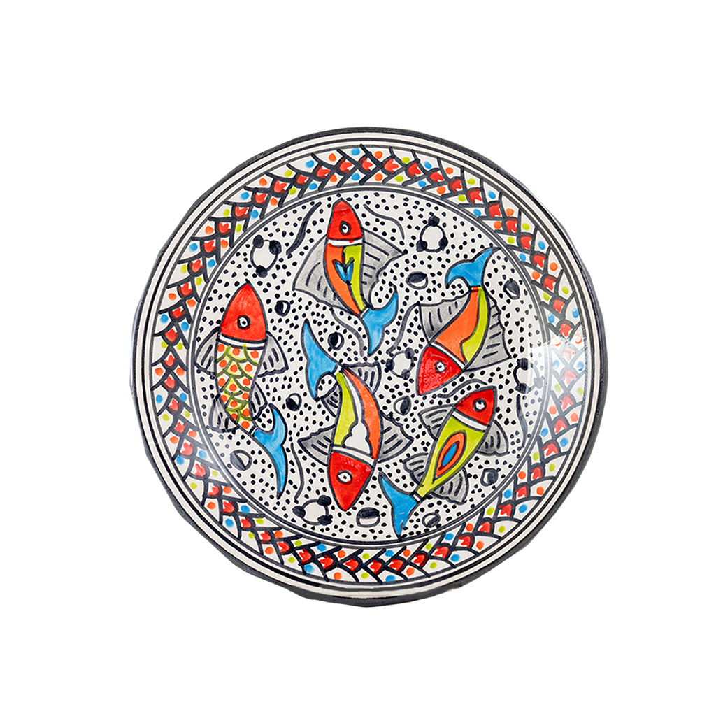 Rainbow Fish Side Plate
