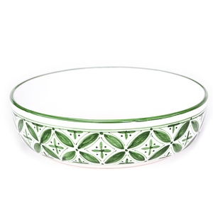Green Fez Wide Pasta Bowl