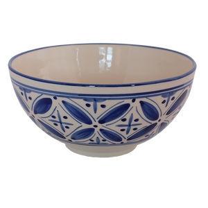 New blue Fez 8 inch bowl
