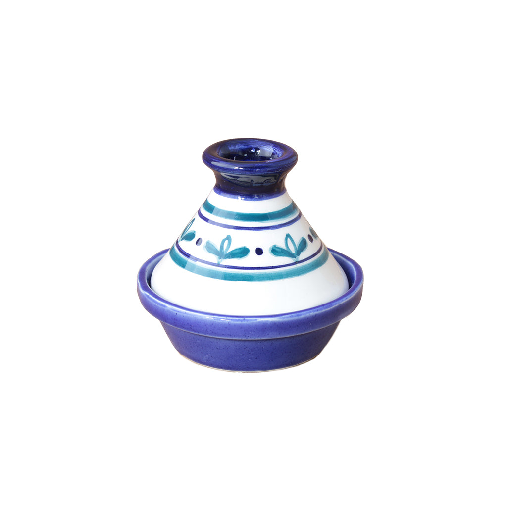 Mini Indigo Tagine Set/4