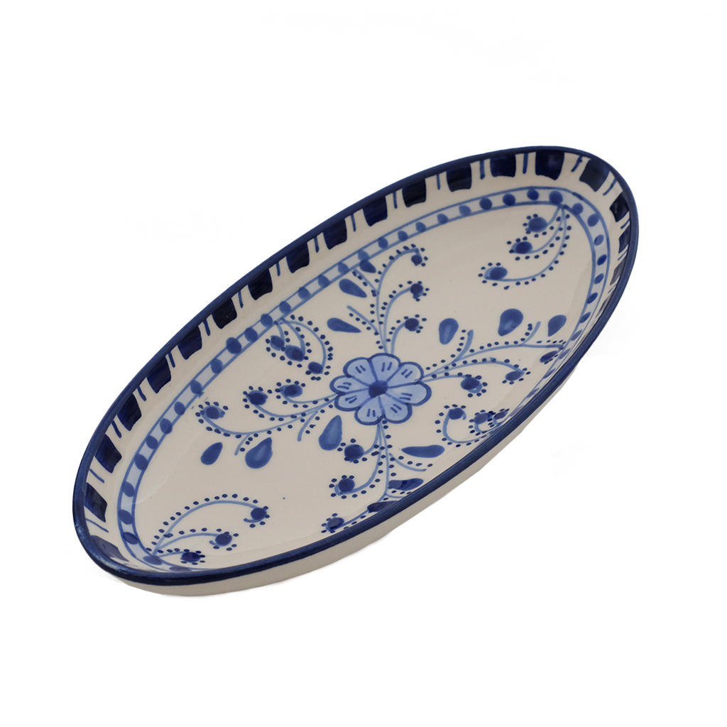 Small Azoura Oval Platter