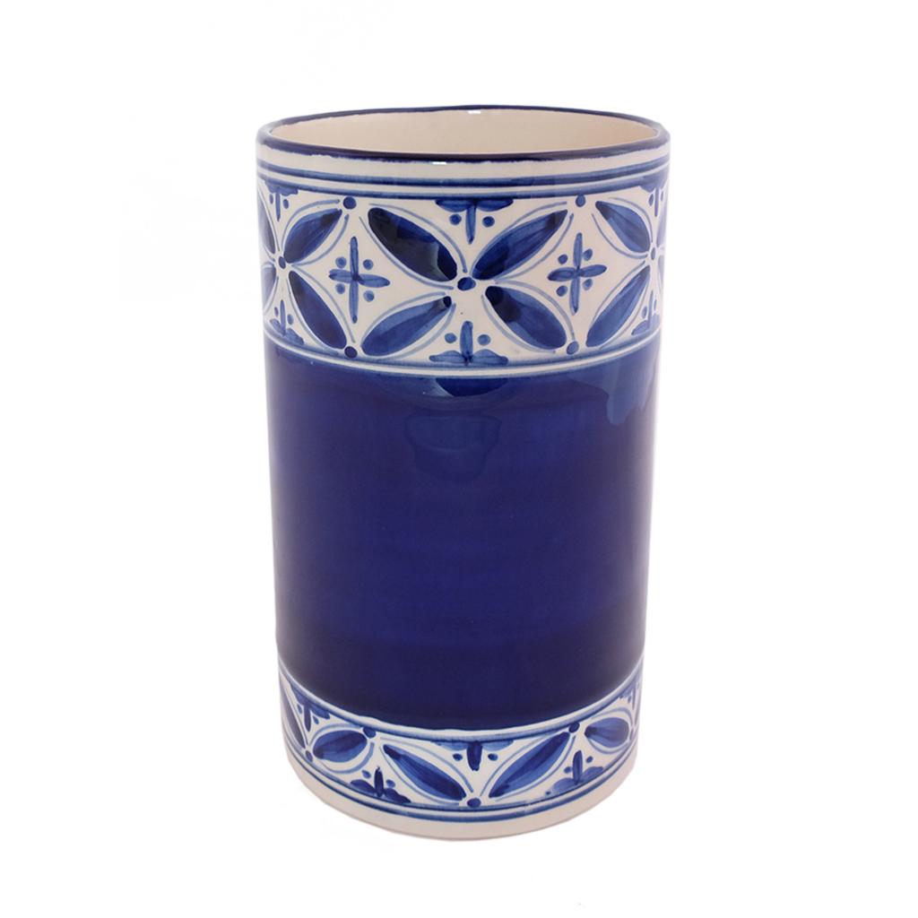 New blue Fez wine chiller/utensil holder