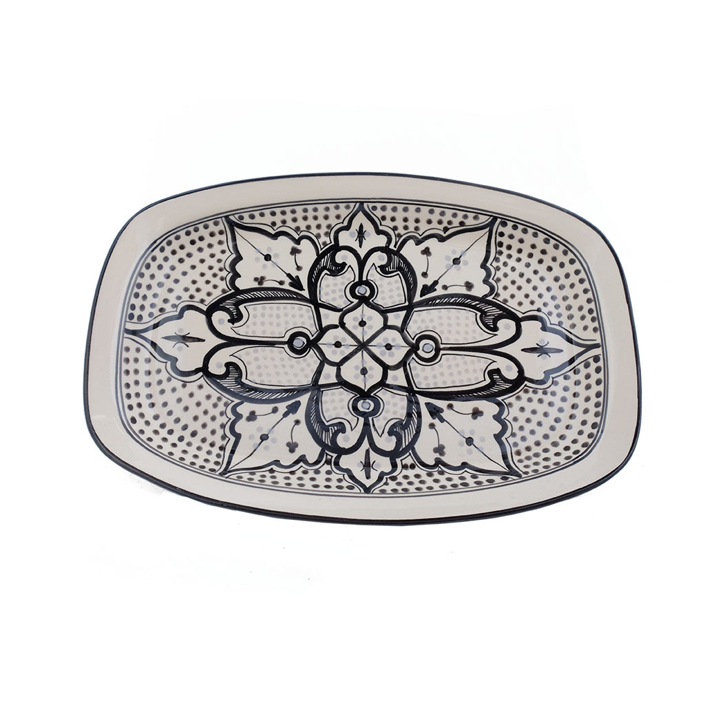 Haqima rectangle platter