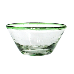Tiny Green Rim Bowl