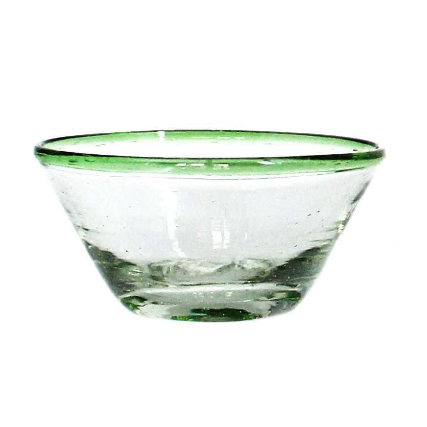 Green rim tiny bowl