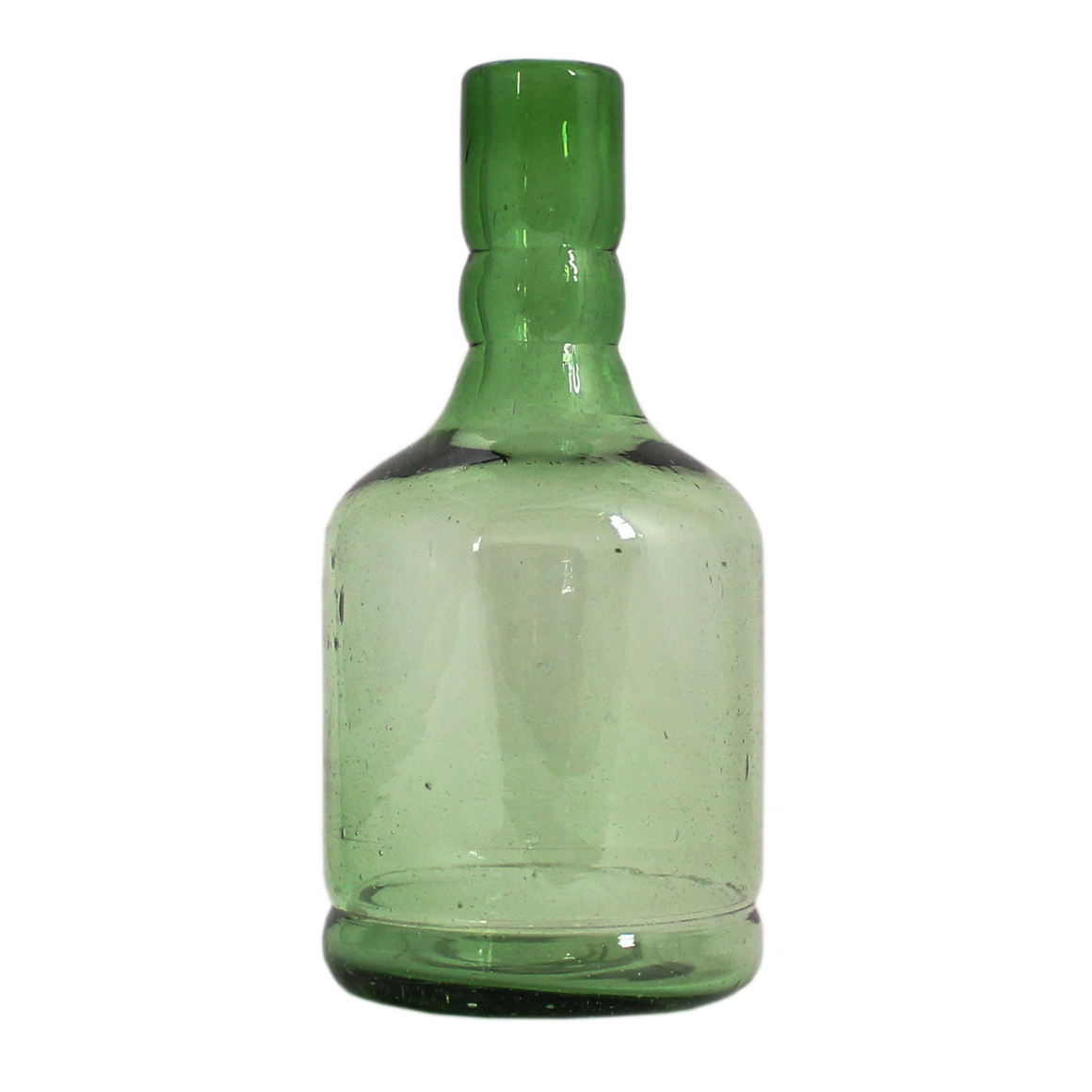 Green decanter/bottle