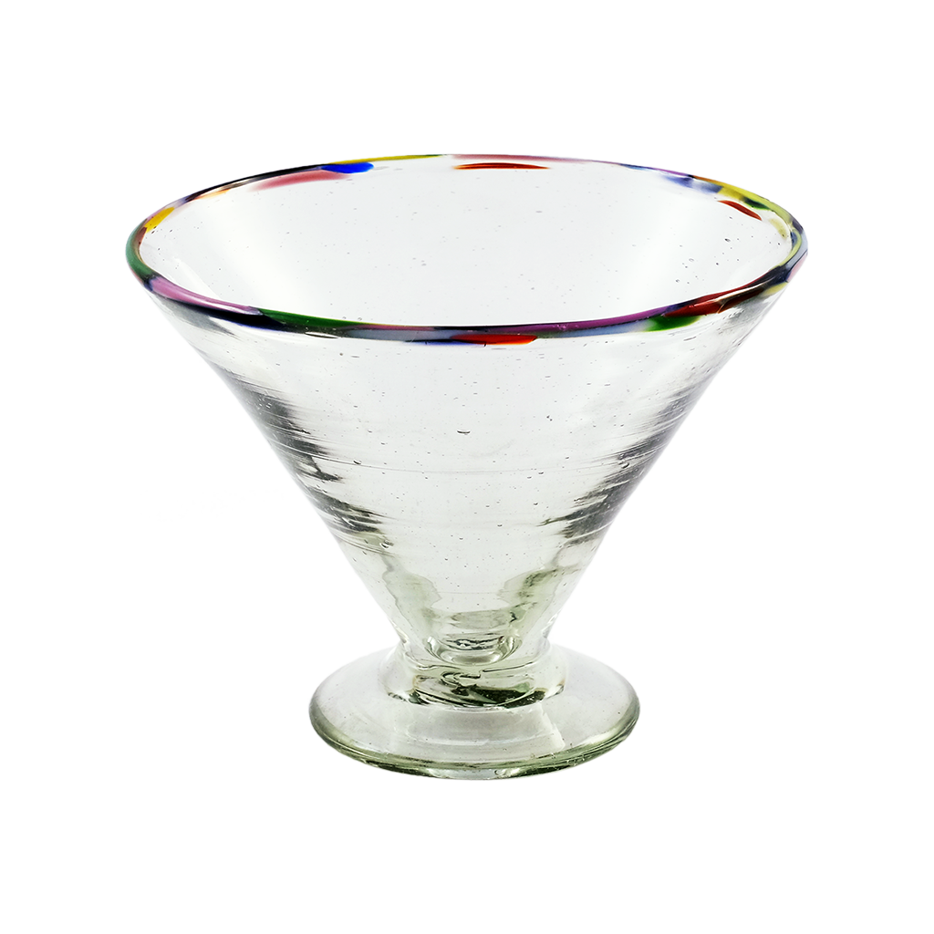 Multi Rim Margarita Glass