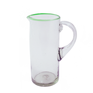 Green Rim Pitcher