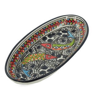 Small Rainbow Fish Oval Platter