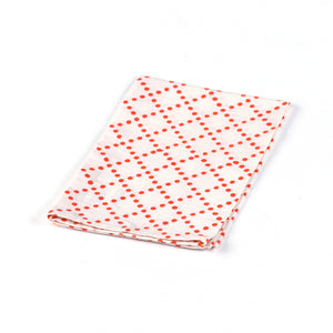 Orange Dotted Napkin
