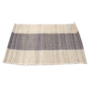 Blue Stripe Jute Placemat
