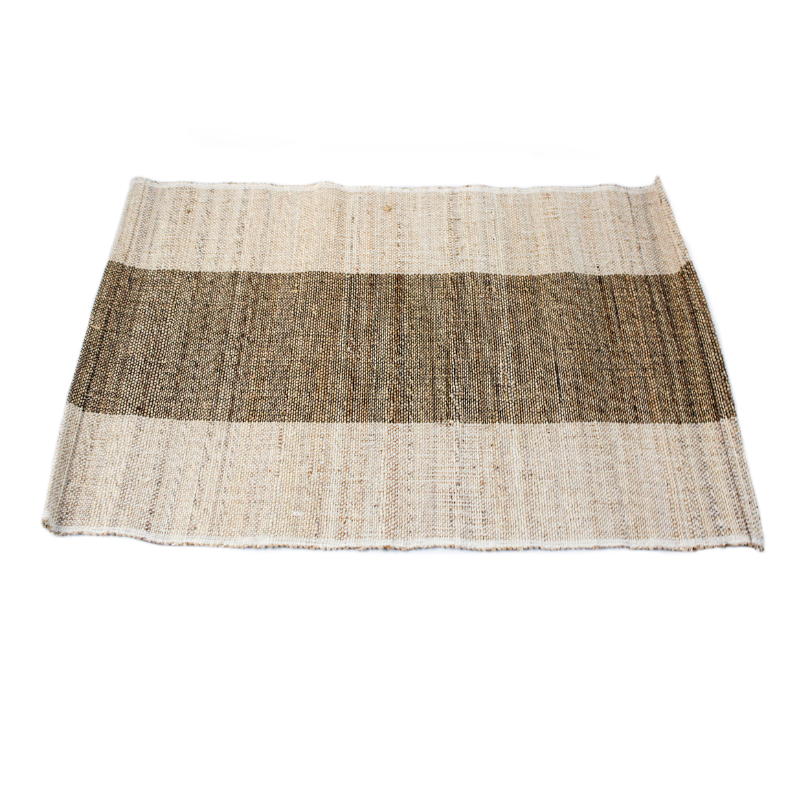 Grey Stripe Jute Placemat