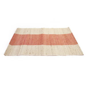 Red Stripe Jute Placemat