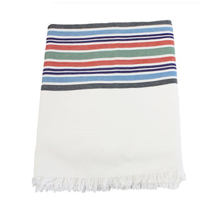 Desert stripe tablecloth