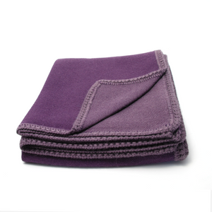 Plum Alpaca Throw