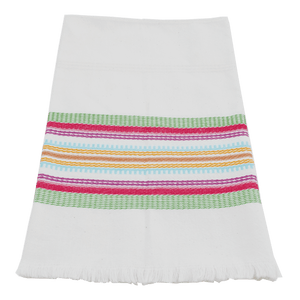 Multicolor Antigua stripe towel