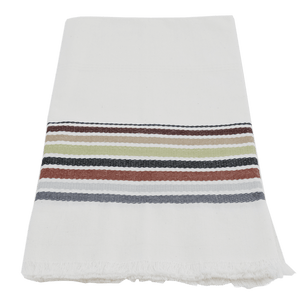 Neutral Stripe Antigua Towel