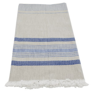 Wheat with Blue Towel
