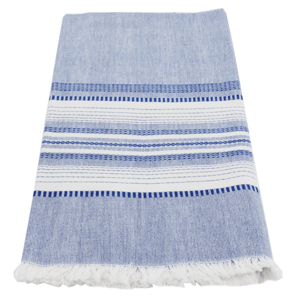 Blue Chambray Towel