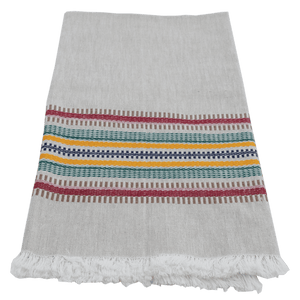 Deep Color Multi Stripe Towel