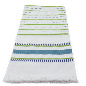 Peacock Seaside Stripe Towel