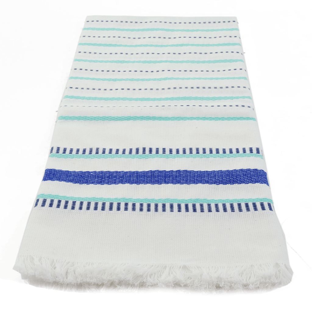 Blue Seaside Stripe Towel