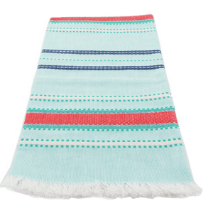 Aqua Cottage Towel