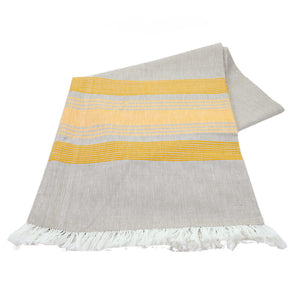 Wheat with Gold Stripes Tablecloth