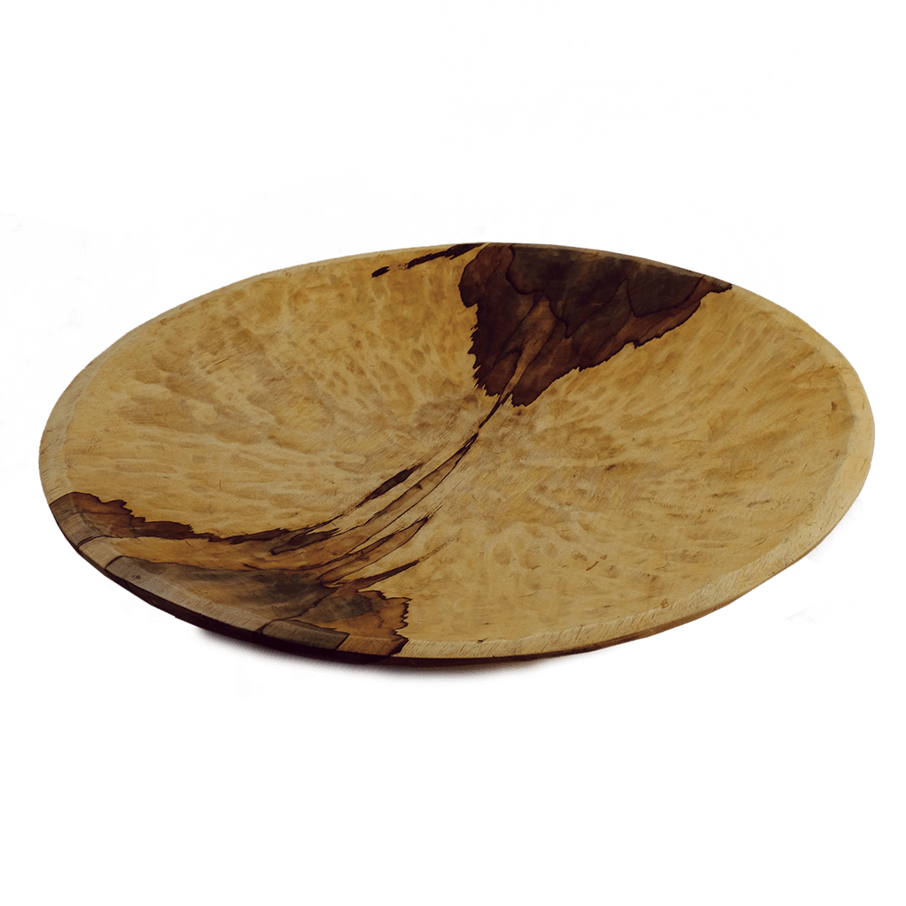 "24"" Shallow Wood Bowl"