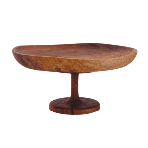 Short Wood Cake Stand