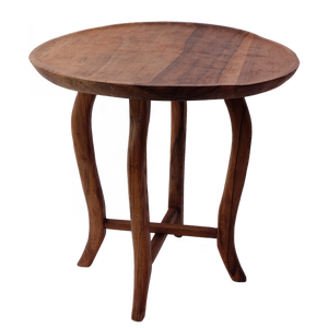 Wood Side Table Lipped