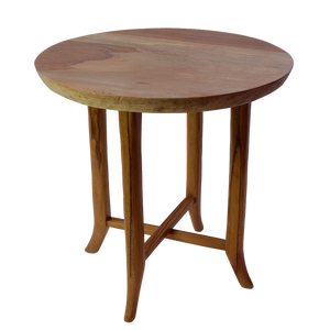 Wood Side Table Flat