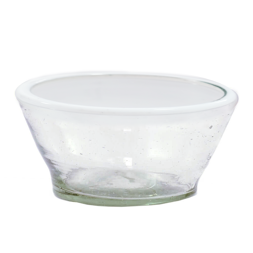 Small White Rim Bowl