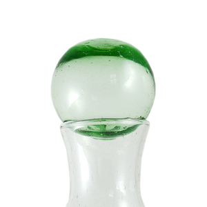 Small Roly Poly Decanter with Glass Topper
