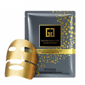 24K Gold Luxury Anti-aging wrinkle Remove Face Masks weekly pack
