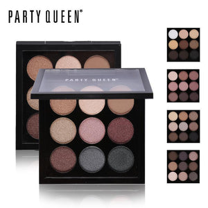 9 Colors Matte Glitter Eyeshadow Palette