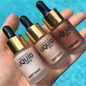 Beauty Glazed Liquid Highlight Makeup Marker Cream Corrector Flicker Face Glow Ultra-concentrated illuminating bronze