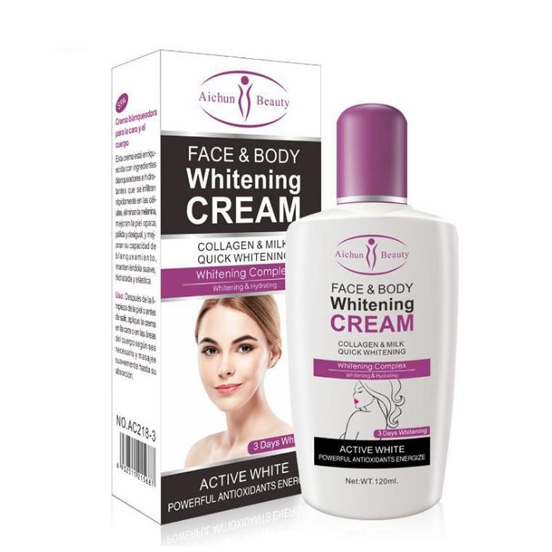 Bleaching Body Whitener Cream For Dark Skin