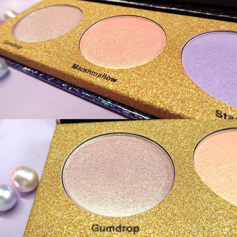 Brand Glitter Highlighter Holographic Makeup Palette