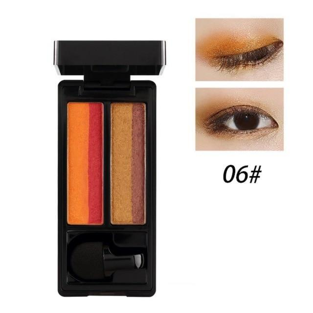 Makeup Double Color Eyeshadow Palette