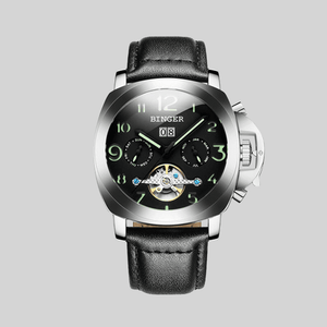 Men's automatic mechanical luminescent and waterproof Military Watch