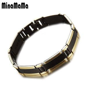 Men's Health Care bio Chains Link Bracelets