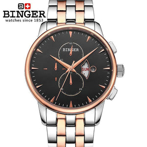 Men's luxury brand Wristwatches 18K gold